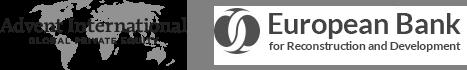 Logos Advent International und European Bank